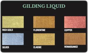 Farbkarte Gilding Liquid