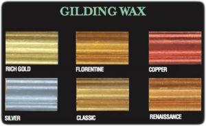 Farbkarte Gilding Wax