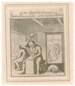 alte Goldschläger Broschüre