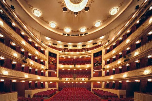 Blick von der Bühne des Wiener Burgtheaters