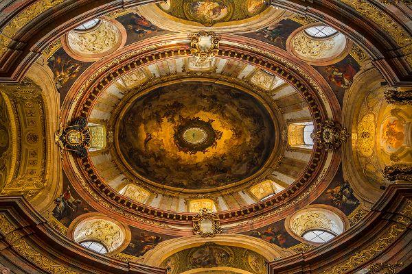 Deckenfresko der Peterskirche in Wien