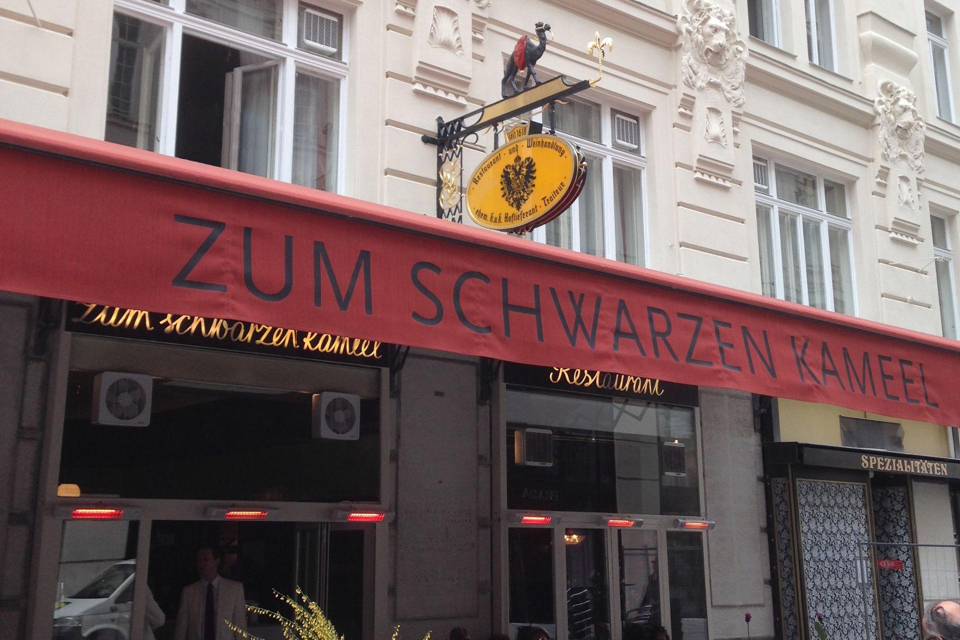 """Restaurant """"Zum schwarzen Kameel"""" in Wien"""
