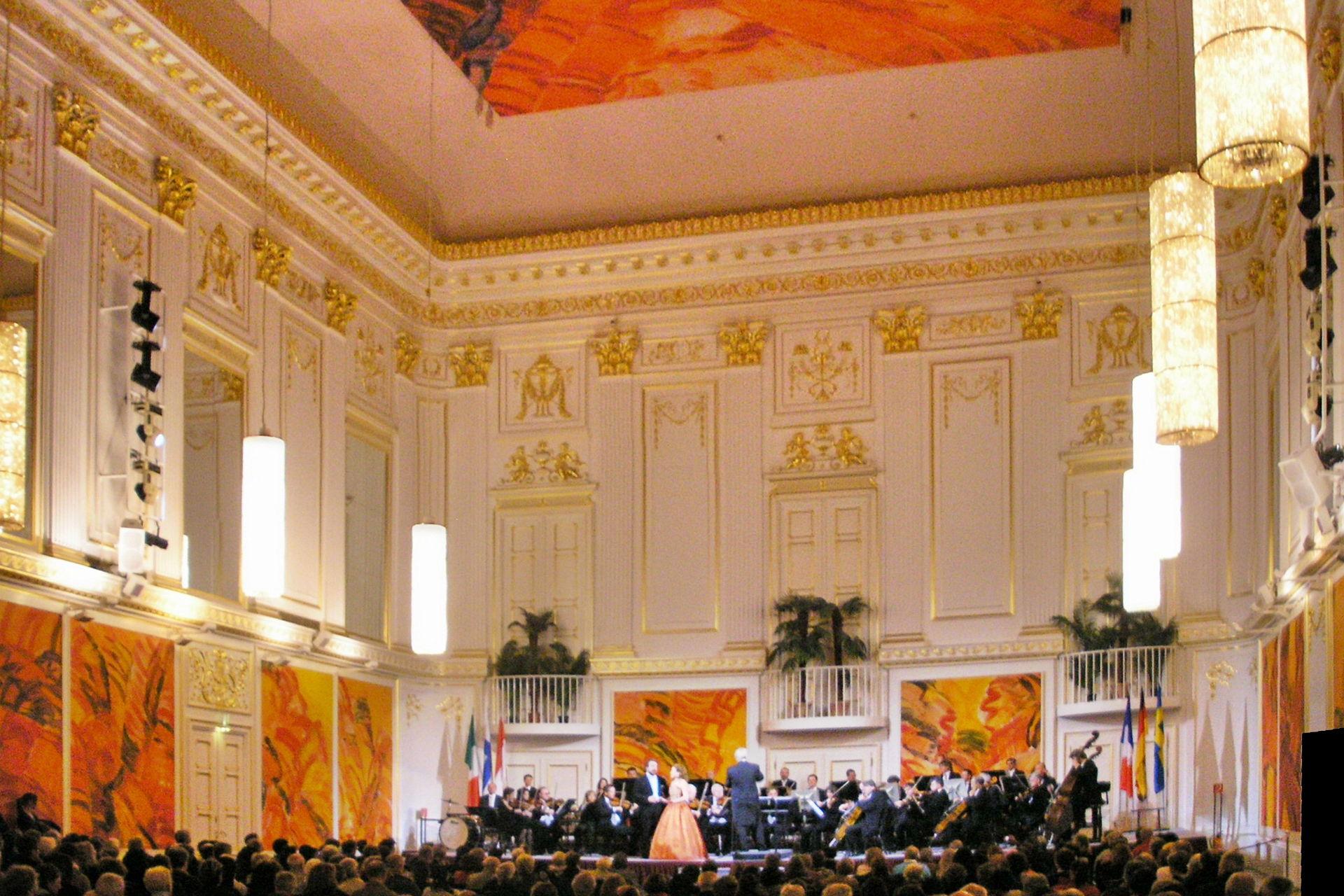 Großer Redoutensaal der Wiener Hofburg