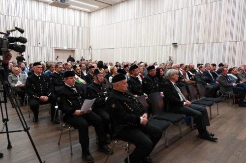 Blick ins Publikum bei der Verleihung des immateriellen Kulturerbes in Schladming